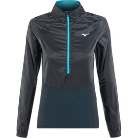 Mizuno Static BT Half-Zip Windtop Women black/black